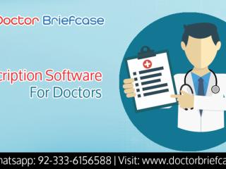 PRESCRIPTION SOFTWARE FOR DOCTORS