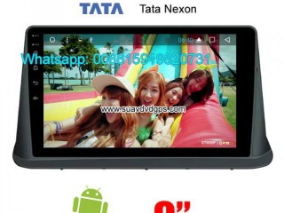 Tata Nexon Car stereo audio radio android GPS navigation camera