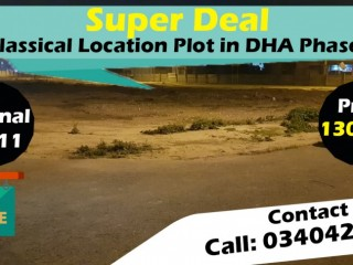 Super Deal - Classical Location Plot in DHA Phase 7 Lahore