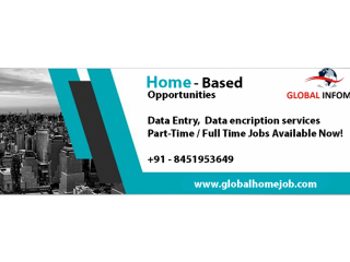 Back Office & Data Entry Operator.