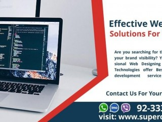 Effective Web Designing and Development Solutions