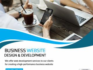 Website Design & Development for All Businesses