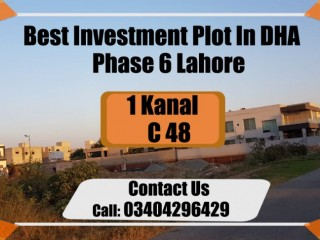 SUPER INVESTMENT Offer Investment Plot in DHA