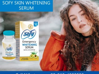 Sofy Skin Whitening Serum For clarify skin tone