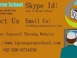 Welcome to Iqra E Quran School 03366734536
