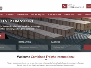 CFIPAK freight forwarder in Pakistan