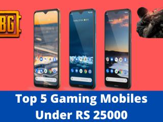 Top 5 Gaming Mobile Under 25000 in Pakistan