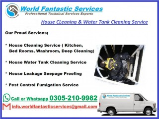 Fantastic Water Tank Cleaning & Leakage Service