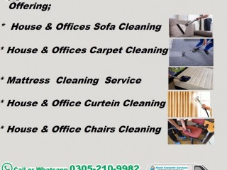 Fantastic Sofa , Carpet , Mattress ,Chairs Cleaning Service