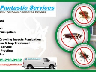 Fantastic Termite, Cockroach, Mosquitoes, bed Bugs Control Fumigation Service