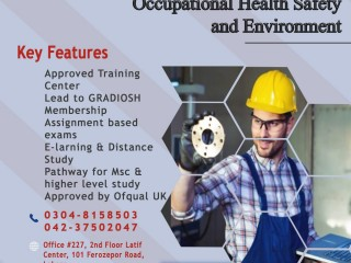 OTHMS Level 6 Certificate in Occupational Health Safety and Environment