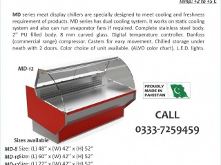 Meat Shops in Pakistan, Meat Shop Equipment in Pakistan, ALVO Meat Chiller made by Technosight